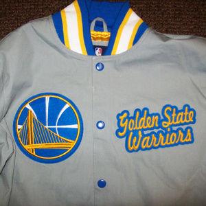 Golden State WARRIORS  4 Time NBA Champ Jacket